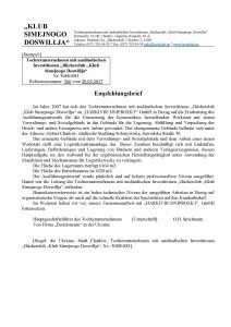 Клуб семейного досуга - отзыв немецкий перевод